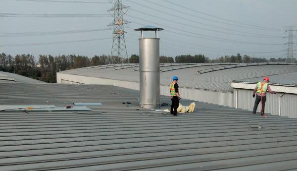 除尘风机厂用风机机壳如何安装?
