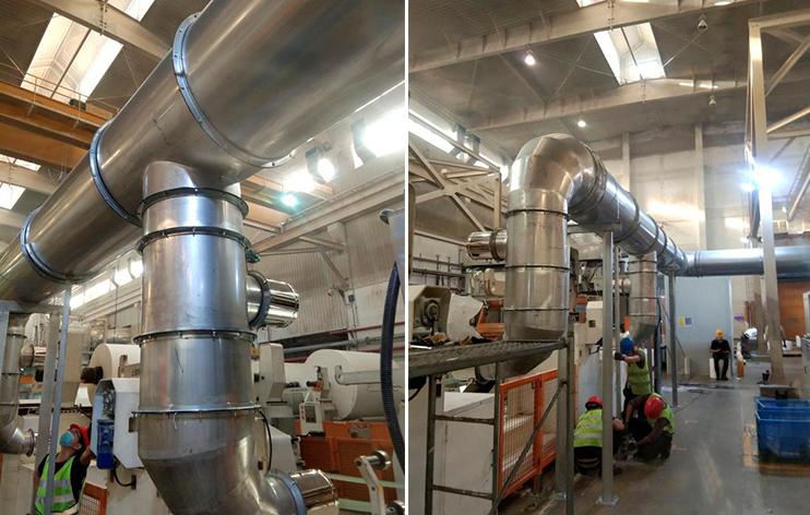 造纸厂除尘器